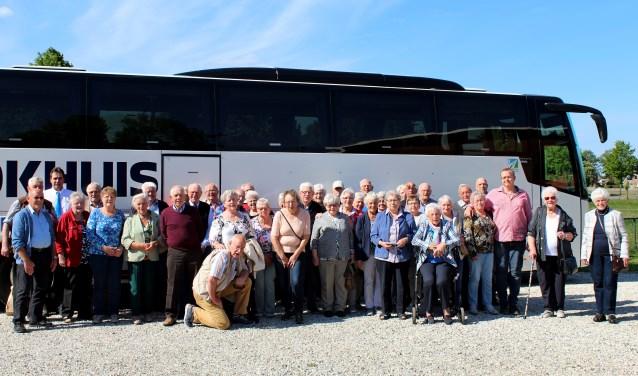 Senioren uit Hengelo en Steenderen genoten van een busreis. Foto: Jan van Houte