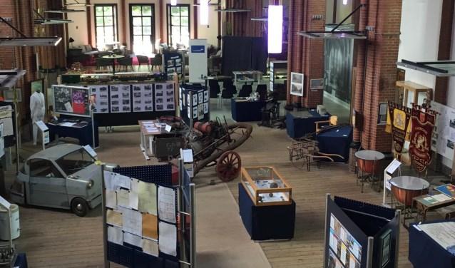 De expositie in de Georgiuskerk op Hemelvaartsdag geopend en in de weekenden tot en met 2 juni. Foto: PR