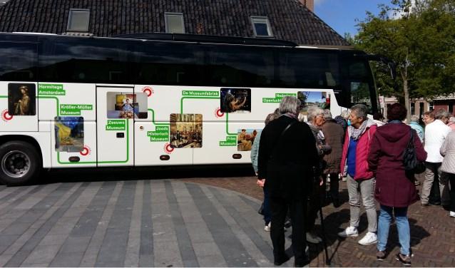 MuseumPlusbus ging met leden van KBO en ZijAktief naar Assen. Foto: Fons Stapelbroek