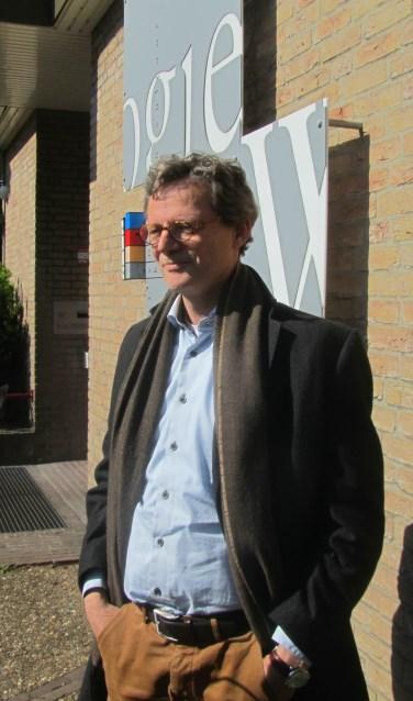Willem Verwey voor Boogie Woogie. Foto: Bernhard Harfsterkamp
