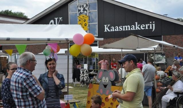 Er is van alles te zien en te beleven op de streekproductenmarkt, ook voor kinderen. Foto: PR