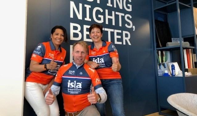 Team Auping wil de Mont Ventoux bedwingen voor de strijd tegen ALS. Foto: PR