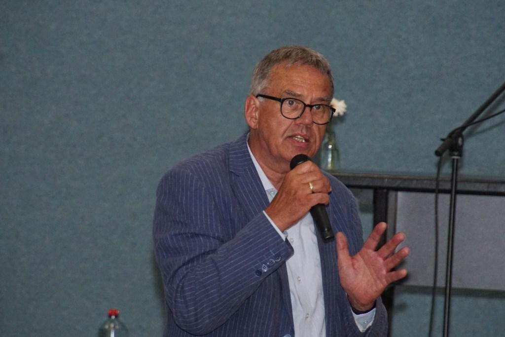 Wim Drenth, één van de initiatiefnemers. Foto: Frank Vinkenvleugel  © Achterhoek Nieuws b.v.