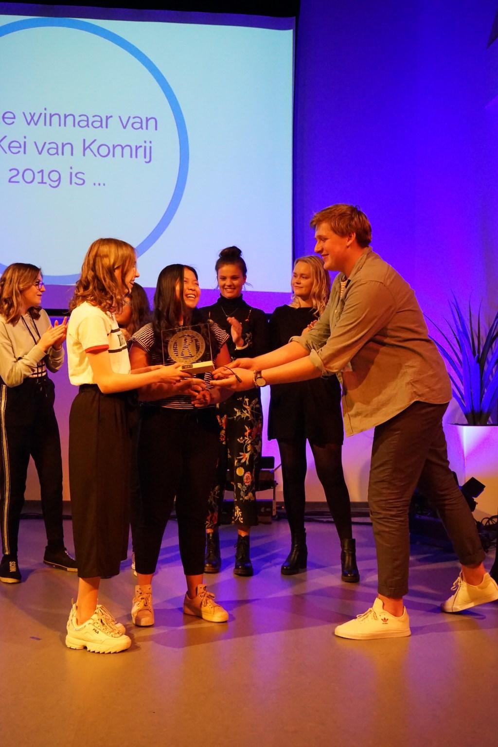 Felicitties voor de winnaars. Foto: Wim Schreurs
