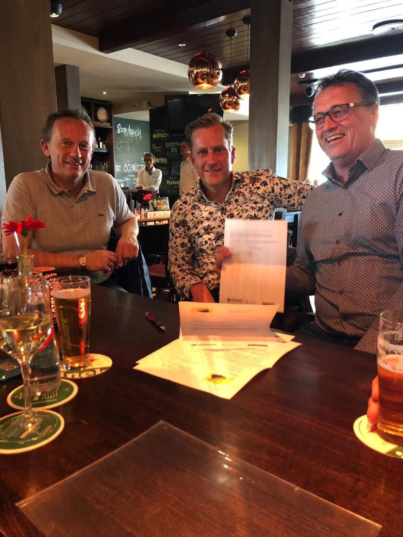 Het contract werd ondertekend. Foto: PR Wiko