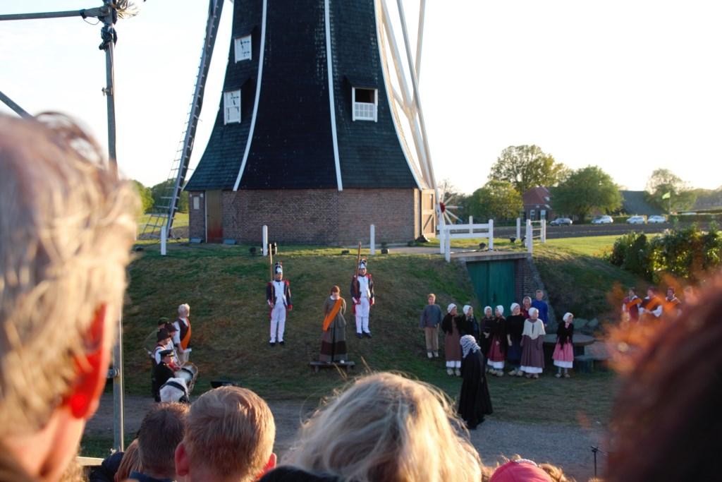 De Freule van Dorth wordt berecht. Foto: Annekée Cuppers  © Achterhoek Nieuws b.v.