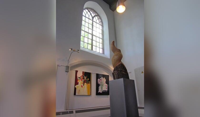 Expositie in de kapel van Bronkhorst. Foto: PR