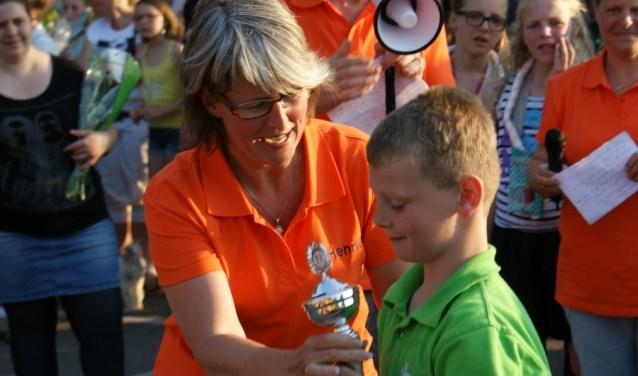OBS Rozengaardsweide won de derde keer de eerste prijs en daarmee de wisselbeker. Foto: PR
