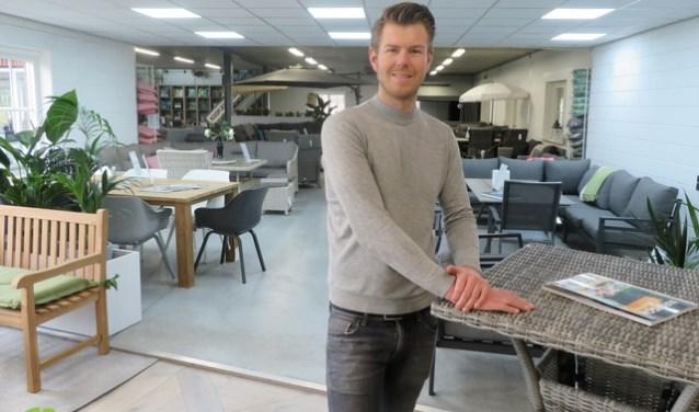 Reamon Breukink in de showroom. Foto: PR