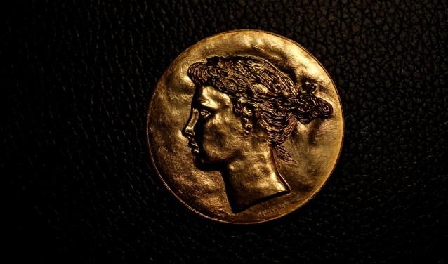 De médaille Paul Belmondo is ontworpen door beeldhouwer Paul Belmondo (1898-1982). Foto: Liesbeth Spaansen  © Achterhoek Nieuws b.v.