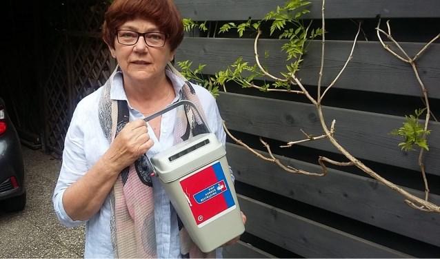 Aggie Bruens, voorzitster van de afdeling Doetinchem van de KWF Kankerbestrijding, roept vrijwilligers op om te collecteren. Foto: Gerard Bruens.Foto: Gerard Bruens