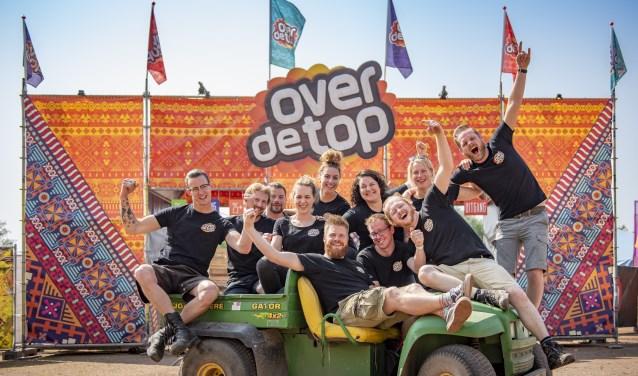 De organisatie van Over De Top. Ramon Heijnst ontbreekt op de foto: Foto: Koolmees Photography