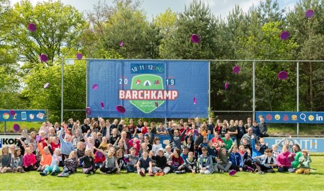 Aan de tweede editie van het Barchkamp namen 140 kinderen deel. Foto: PR.