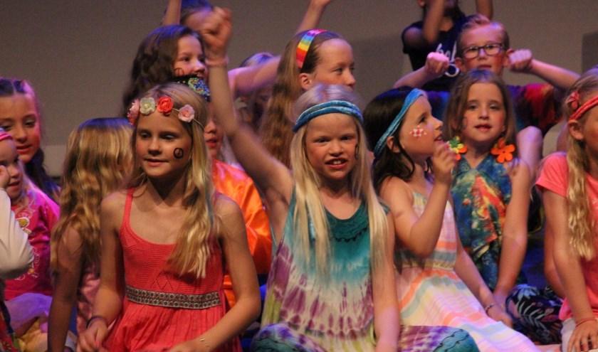 Kinderen leren de fijne kneepjes van het vak bij Vaye Musicaltheater. Foto: PR