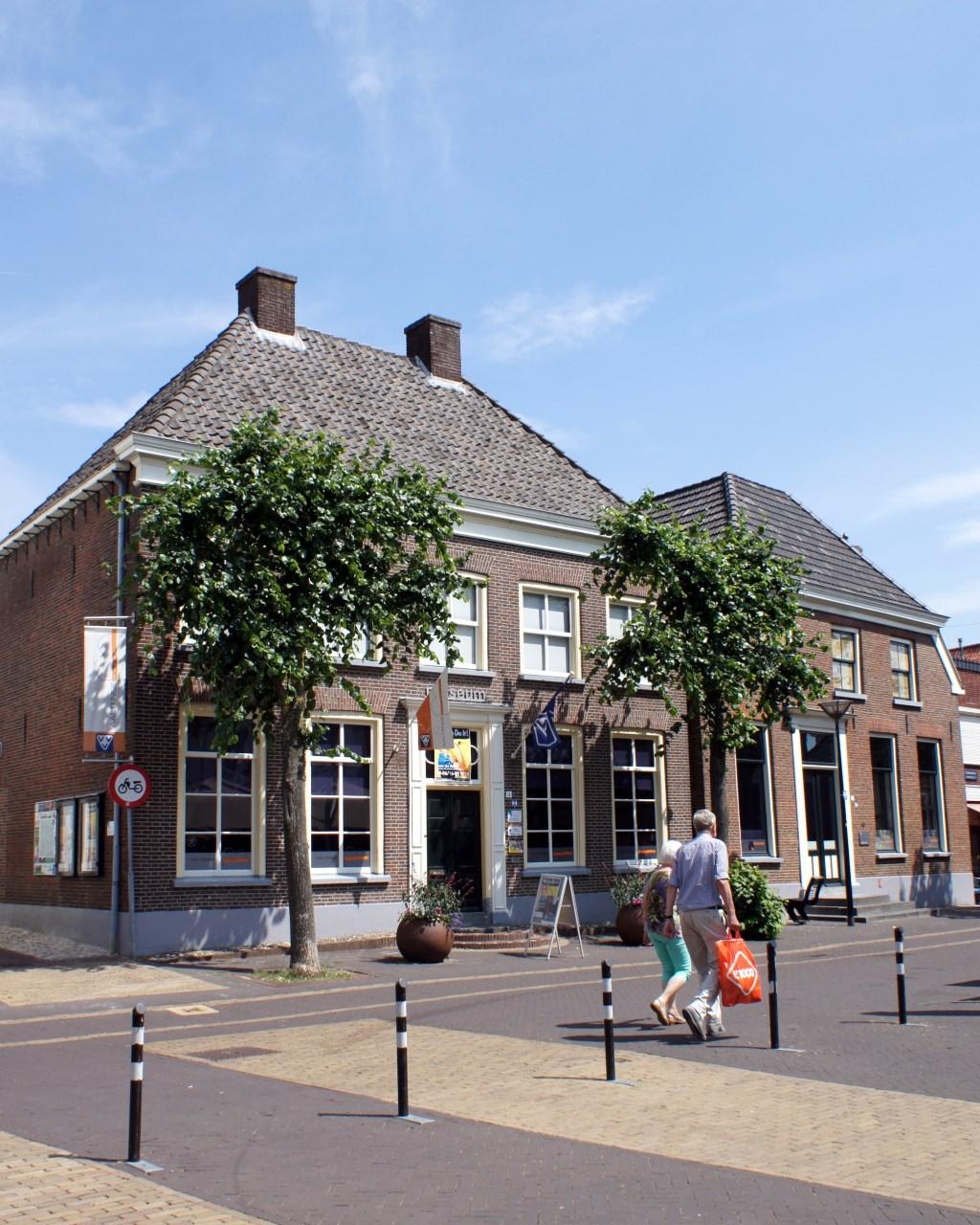 De voorkant van Markt 12, het Onderduikmuseum. Foto: PR  © Achterhoek Nieuws b.v.