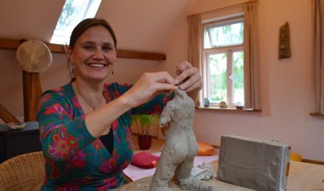 Er is ook werk van Ricarda te zien op 2 juni. Foto: Leander Grooten