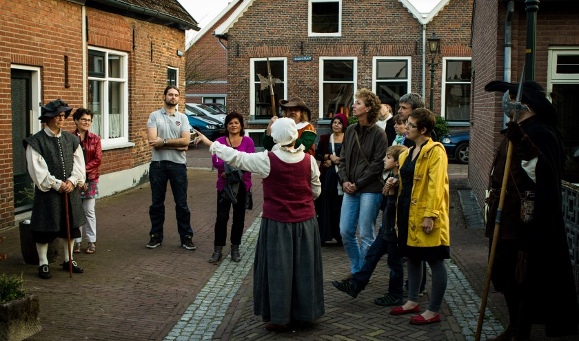 Hendrickje Stoffels vertelt over haar geboortestad. Foto: Daniel Osterkamp