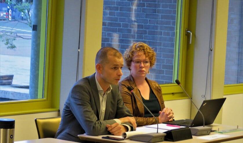 Voorzitter van het dagelijks bestuur van Laborijn en wethouder van Doetinchem Jorik Huizinga, hier tijdens een raadsvergadering Foto: archief