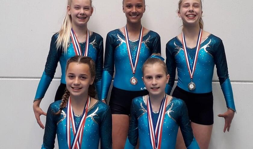 De succesvolle meiden van RGV. Foto: PR. .