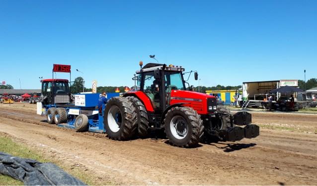 Nieuw dit jaar op de zaterdagavond tijdens Tractorpulling Ruurlo is de acht ton XL klasse. Foto: PR.
