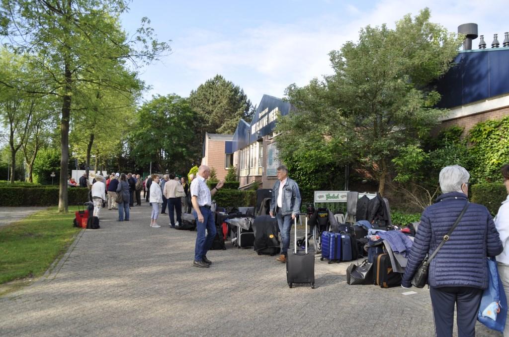 Bijna klaar voor vertrek. Foto: PR