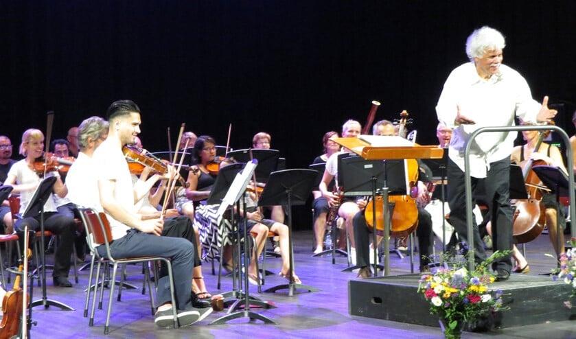 Plezier bij het eerste concert van het Leerorkest. Foto: Josée Gruwel