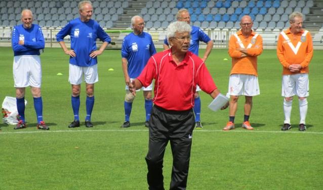André van der Ley geeft uitleg. Foto: PR