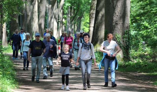 Ruim 600 deelnemers meer voor de Achterhoekse Wandelvierdaagse. Foto: PR