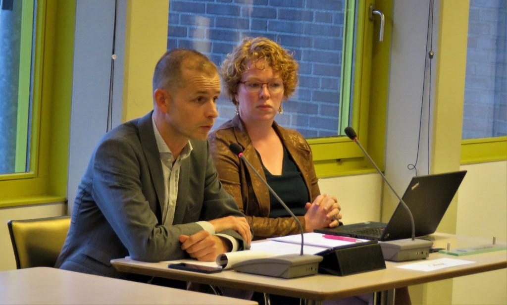 Jorik Huizinga tijdens beeldvormende raad