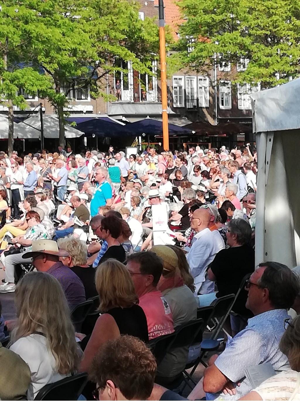 Op alle locaties heel veel publiek. Foto: PR  © Achterhoek Nieuws b.v.
