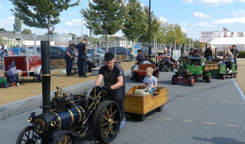 Bijzondere stoomvoertuigen en -machines bij het OV-museum. Foto: PR