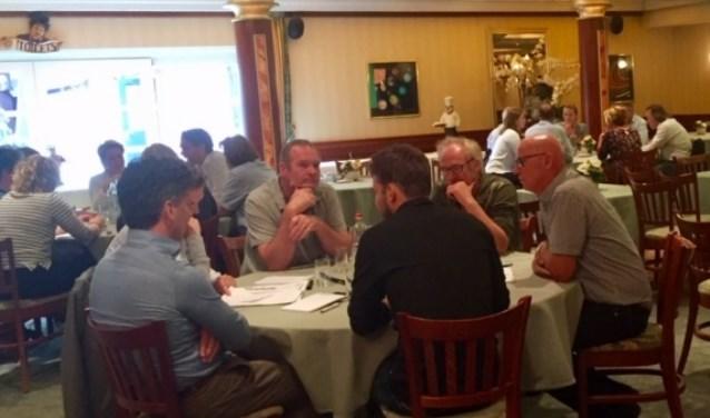 Focusgroep sessie met toeristische en recreatieve sector. Foto: PR