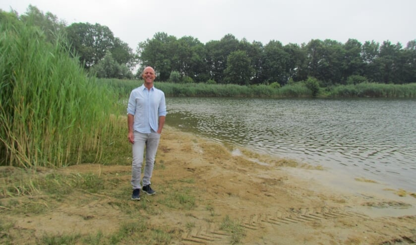 Eric Wewerinke op De Fontein in Eibergen. Foto: Rob Stevens