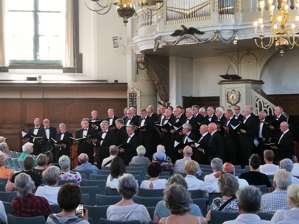 Het optreden in de Oostkerk. Foto: PR  © Achterhoek Nieuws b.v.