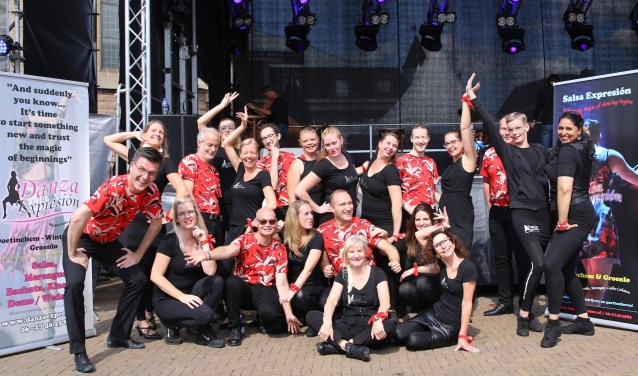 Danza Expresion, een van de acts in de line-up van Dancing in the Street. Foto: PR