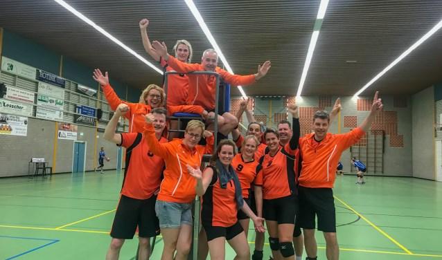 Het recreantenteam van Tornax dat zich voor het NK kwalificeerde. Foto: PR.