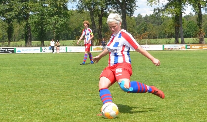Sportvrouw van het jaar bij Ulftse Boys Mandy Bouman. Foto: PR