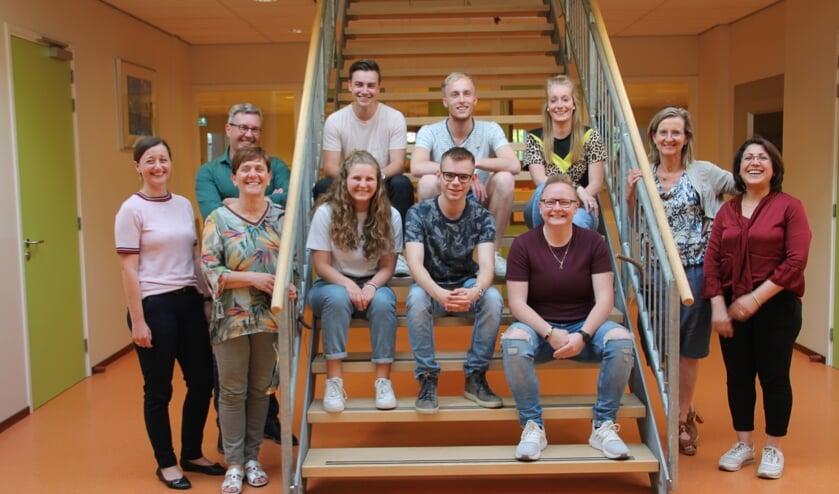 Het enthousiaste team Zomerschool, in IKC De Bosmark. Foto: Lydia ter Welle