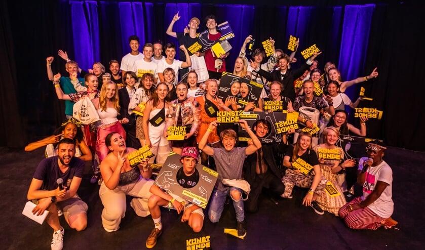 De winnaars van Kunstbende 2019. Foto: Marcel Krijgsman