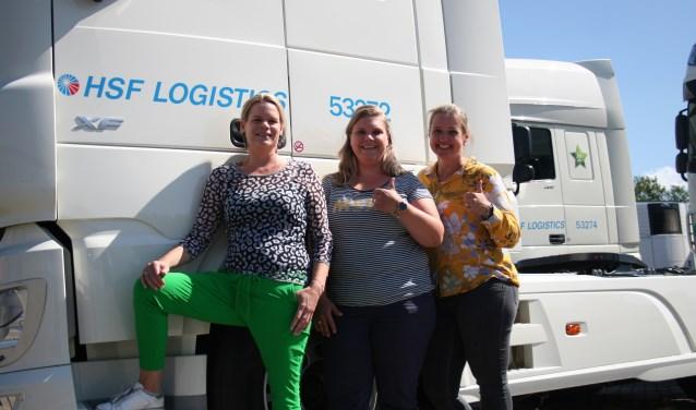 Van links naar rechts: Heidie ten Thije, Malon Oonk en Judith Theissen. Foto: Verona Westera