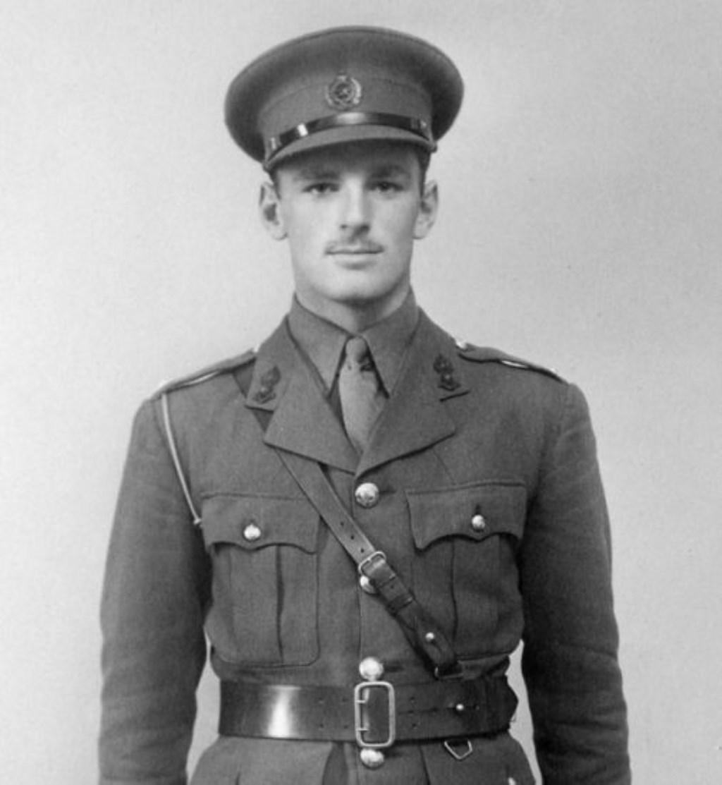 Major Logan Scott-Bowden. Foto: PR  © Achterhoek Nieuws b.v.