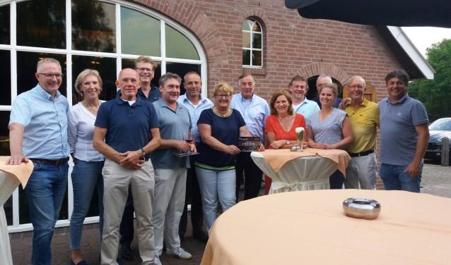 De winnaars van de Borculose Golfkampioenschappen. Foto: PR