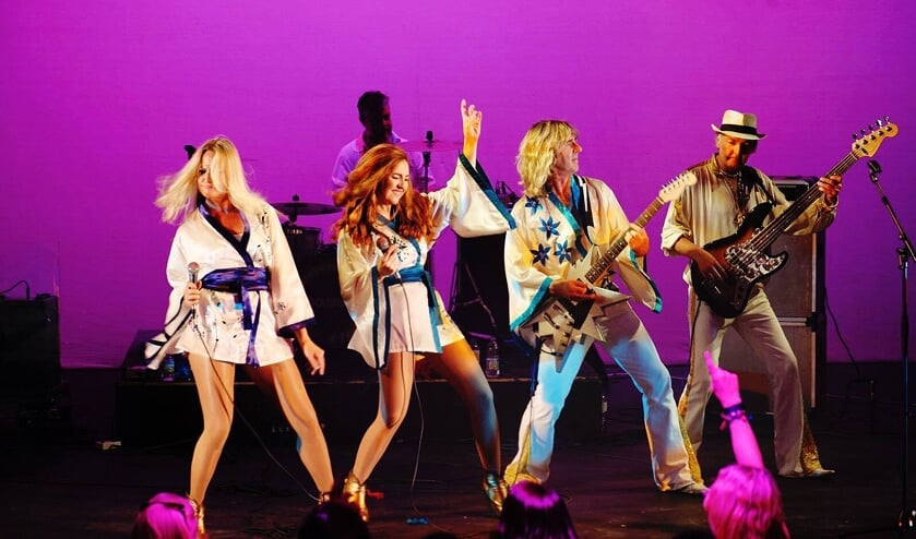 De Abba-tributeband ABBA Gold Europe. Foto: PR