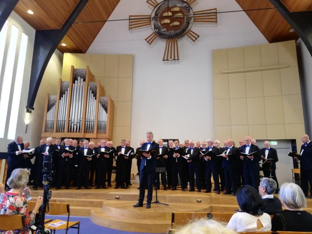 Het optreden in de Hofpleinkerk. Foto: PR  © Achterhoek Nieuws b.v.