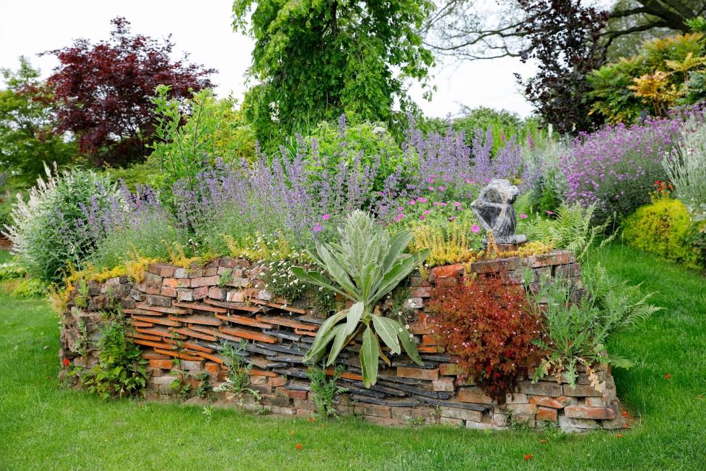 Een element in de tuin van de familie Duitshof. Foto: PR Groei & Bloei  © Achterhoek Nieuws b.v.