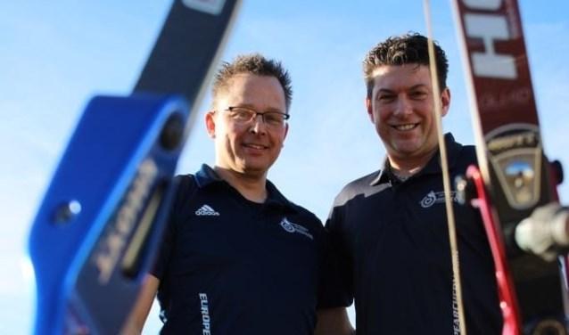 Mike Reukers (links) en Pascal Koolhof hopen op veel publieke belangstelling. Foto: PR Switbertus