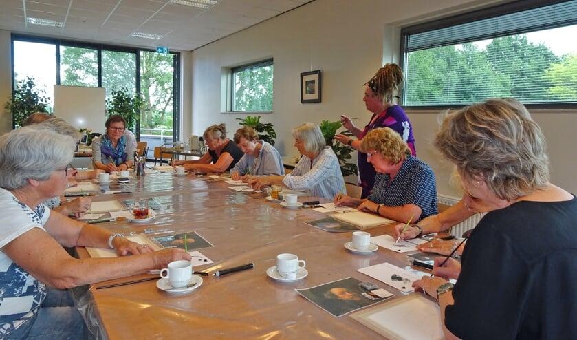 Er was veel belangstelling voor de eerste workshop; op 6 juli is de volgende. Foto: PR