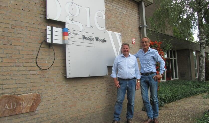 Bestuursleden Vielvoije en Krabbenborg van Boogie Woogie. Foto: Bernhard Harfsterkamp