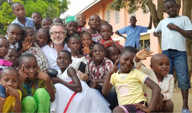 Gerrit Grievink zag onlangs in Oeganda de positieve impact van zelfs een relatief klein project. Foto: PR