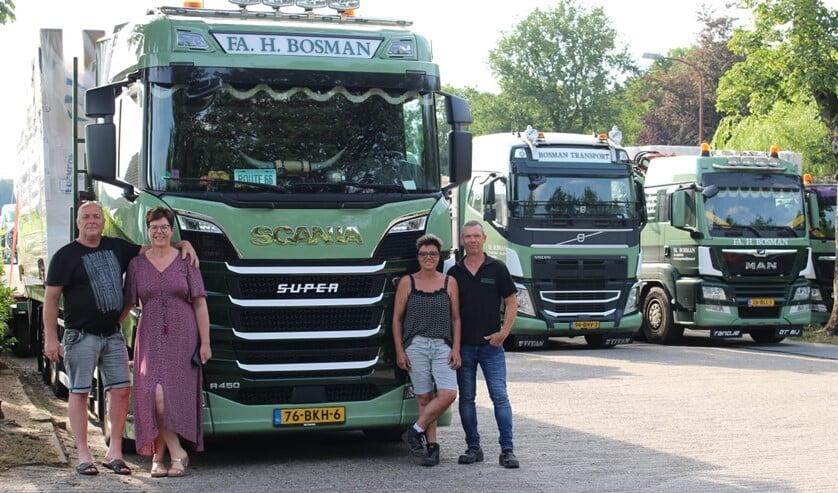 De derde generatie, Frank & Anita en Henk & Angelien Bosman leidt nu het bedrijf. Foto: PR